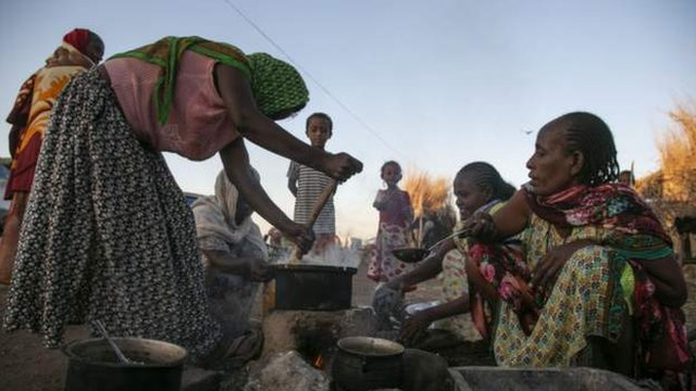 Tigray Displaced persons